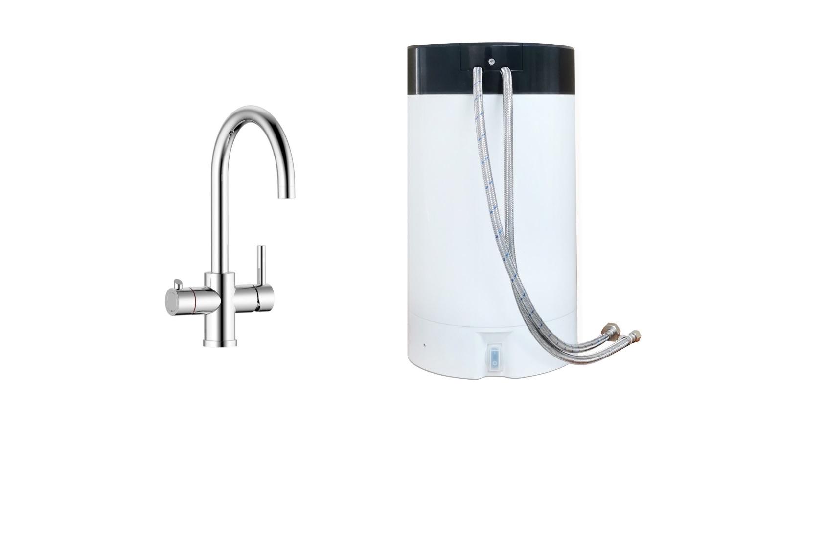Thermofllow Kochendwassergerät Kochendwasser-Armatur Boiler mit Armatur 5 Liter