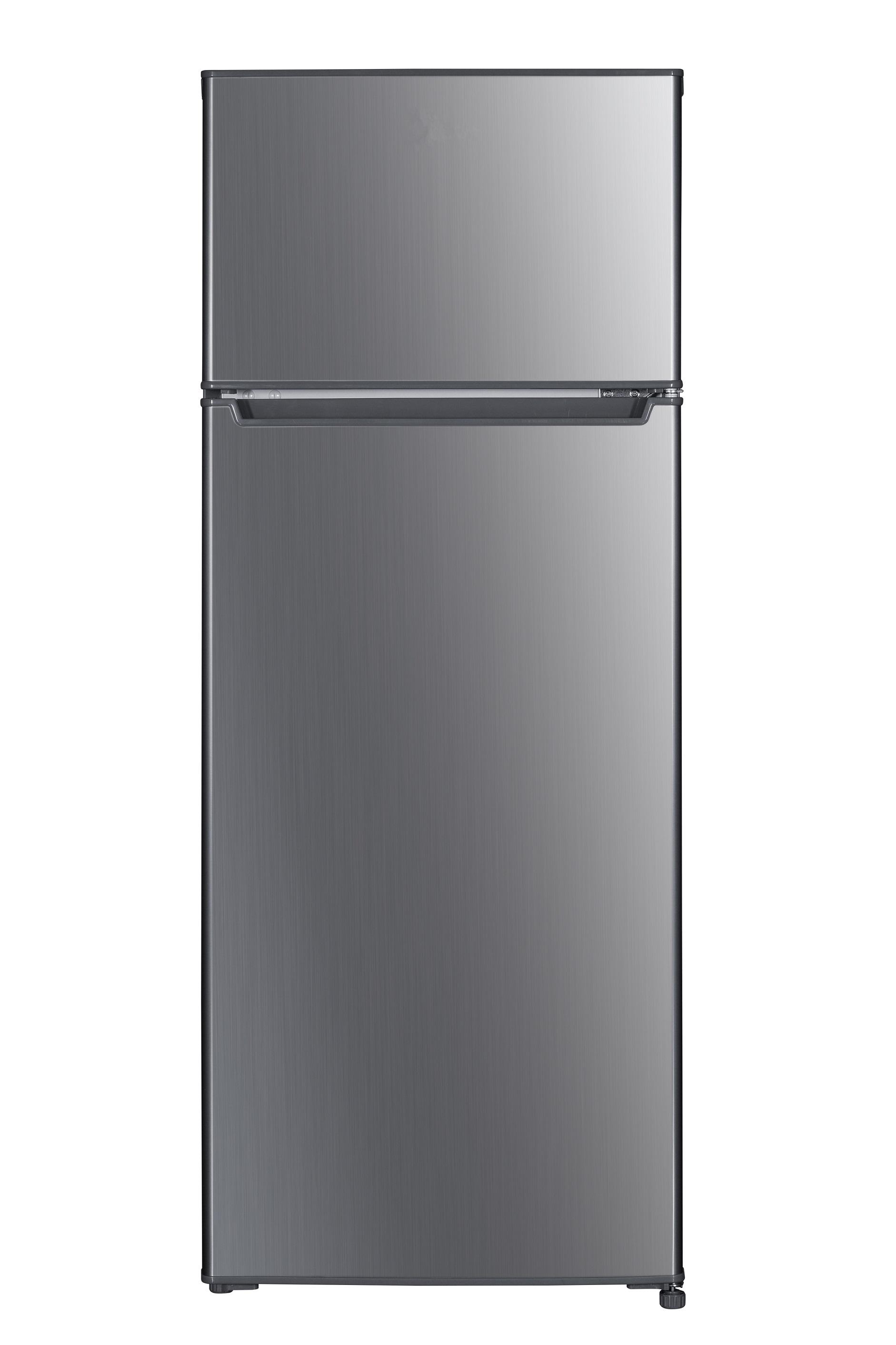 respekta Kühlschrank Standkühlschrank Kühl-Gefrierkombination 143 cm silber