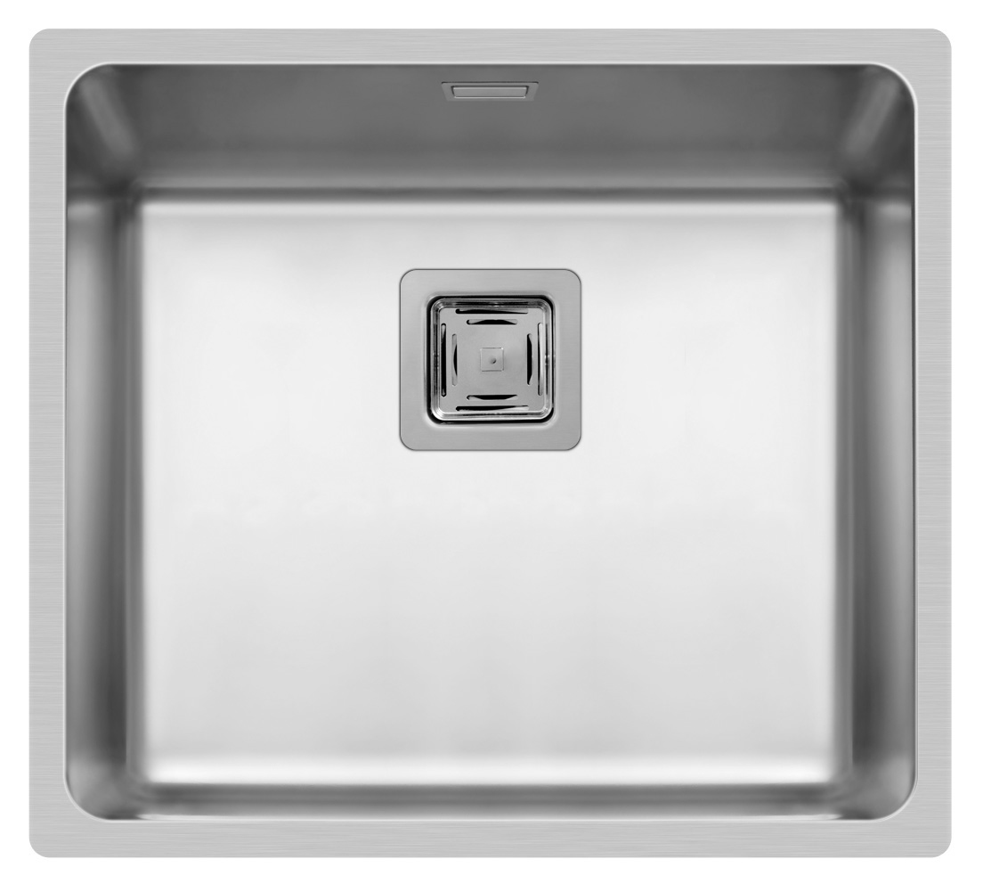 Spüle Edelstahlspüle Einbauspüle Küchenspüle Spülbecken Edelstahl 45x40 Pyramis